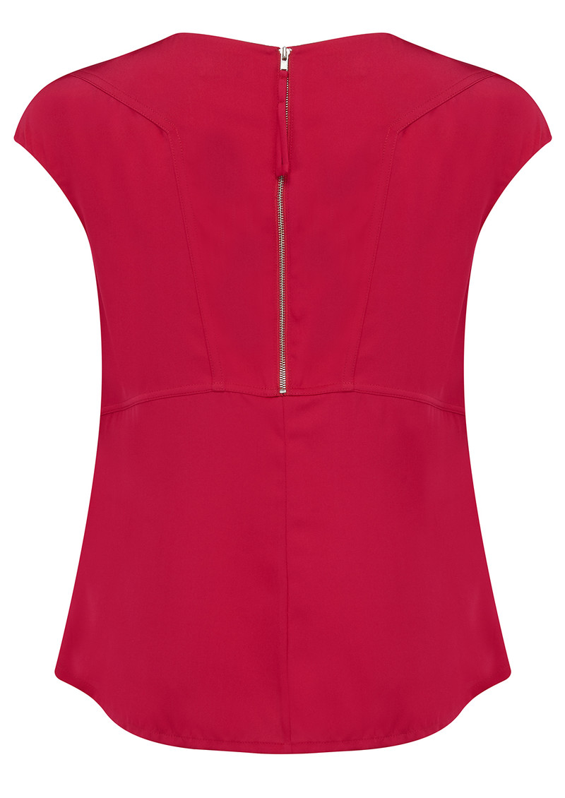 AHLVAR Yui Top - Dark Pink main image