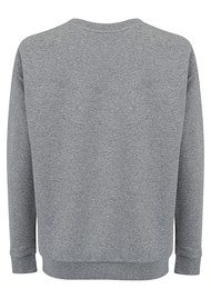 SOUTH PARADE Alexa Pom Pom Sweatshirt - Heather Grey