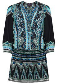Hale Bob Ioanna Print Dress - Black