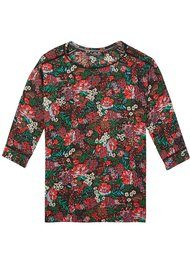 Maison Scotch Silky Top With Ladder Inserts - Combo N