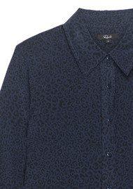 Rails Kate Silk Shirt - Midnight Cheetah