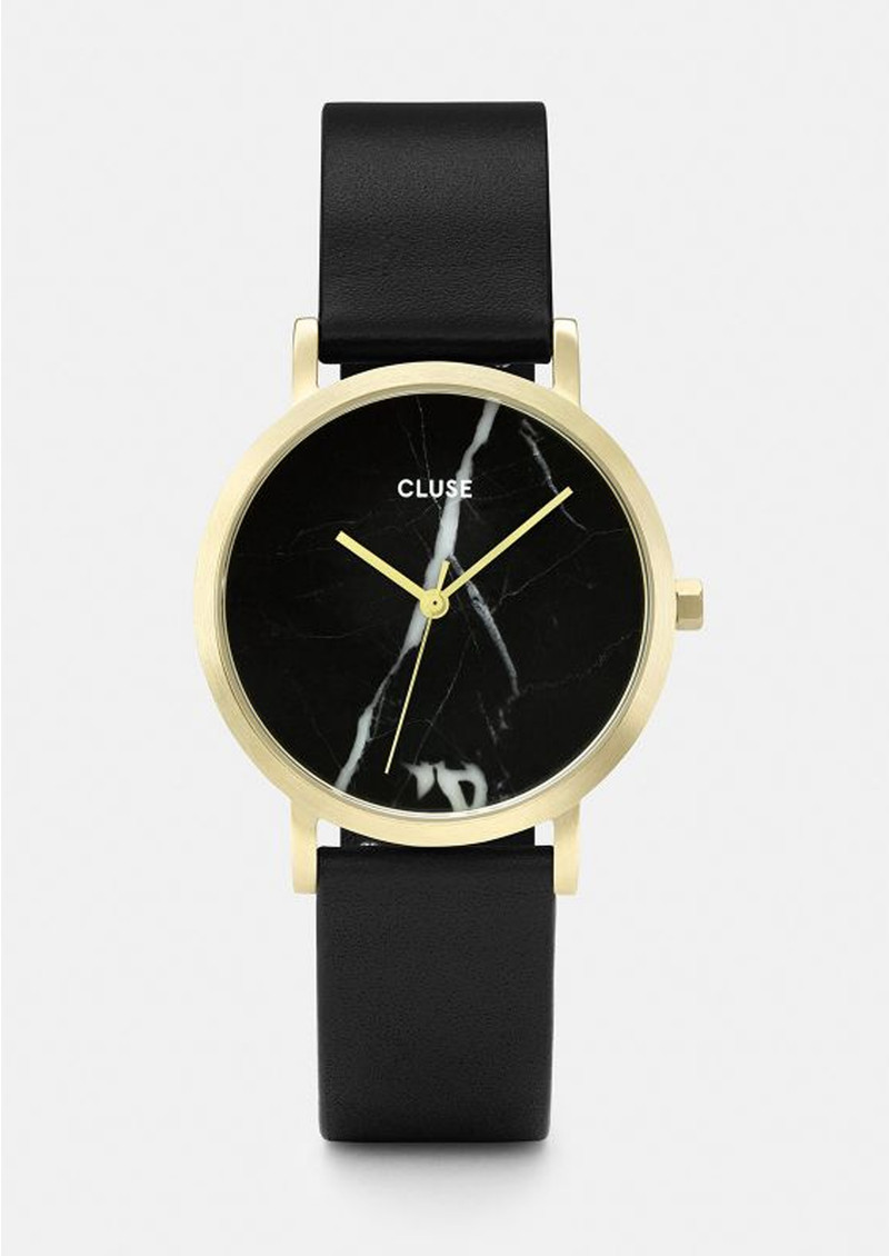 cluse marble roche watches products rose la mesh white gold watch