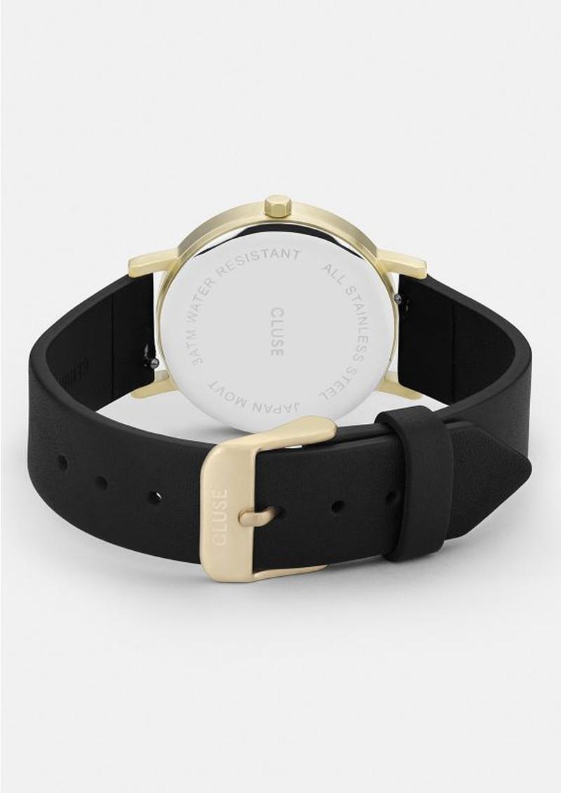 CLUSE La Roche Petite Gold Watch - Black & Black main image