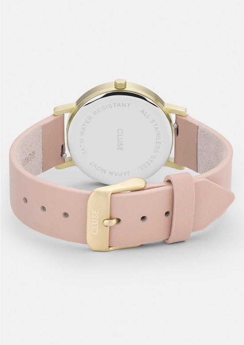 CLUSE La Roche Petite Gold Watch - White & Nude main image