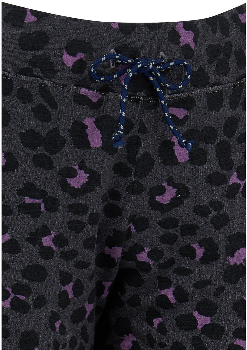 SUNDRY Active Animal Sweatpants - Heather Charcoal main image