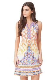 Hale Bob Giotta Beaded Dress - Orange