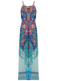 Hale Bob Tsukiki Stained Glass Maxi Dress - Blue