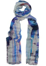 Lily and Lionel Heath Silk Mix City Scarf - Multi