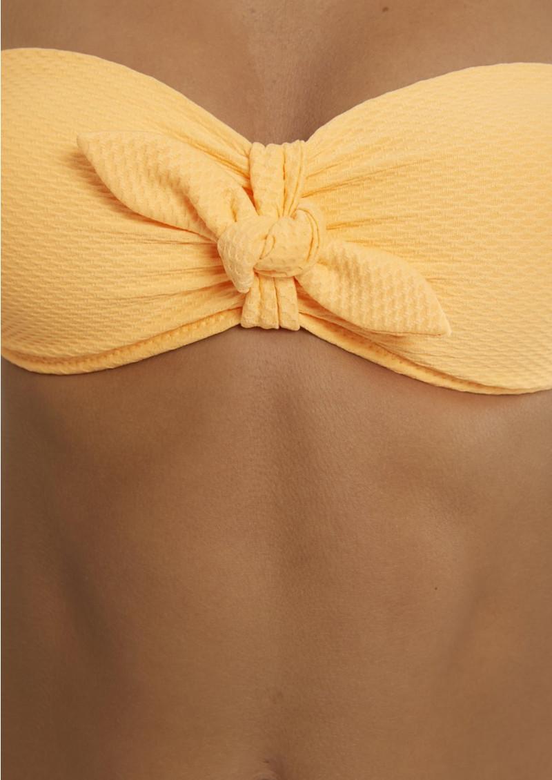 HEIDI KLEIN Folly Island Balcony Bikini Top - Orange main image