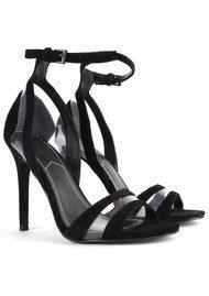 KENDALL & KYLIE Goldie Suede Heels - Black
