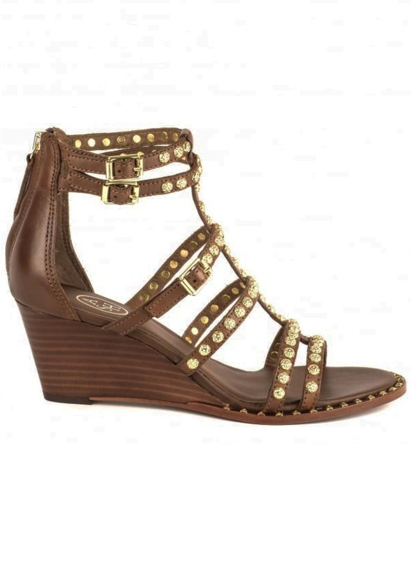 Ash Nuba Studded Sandals - Cacao main image