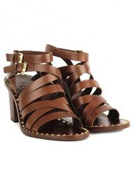Ash Puket Strappy Sandals - Cacao