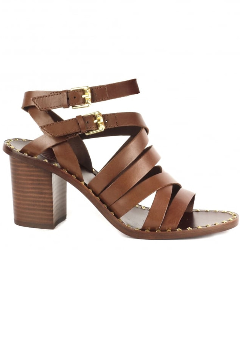 Ash Puket Strappy Sandals - Cacao main image