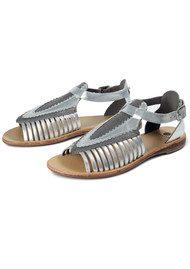 Hudson London Pansy Sandal - Silver
