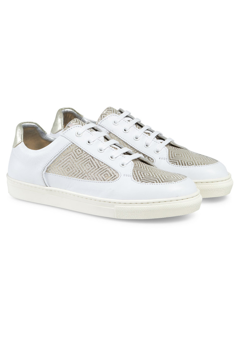 ROSE RANKIN Coney Low Top Trainers - Labyrinth main image