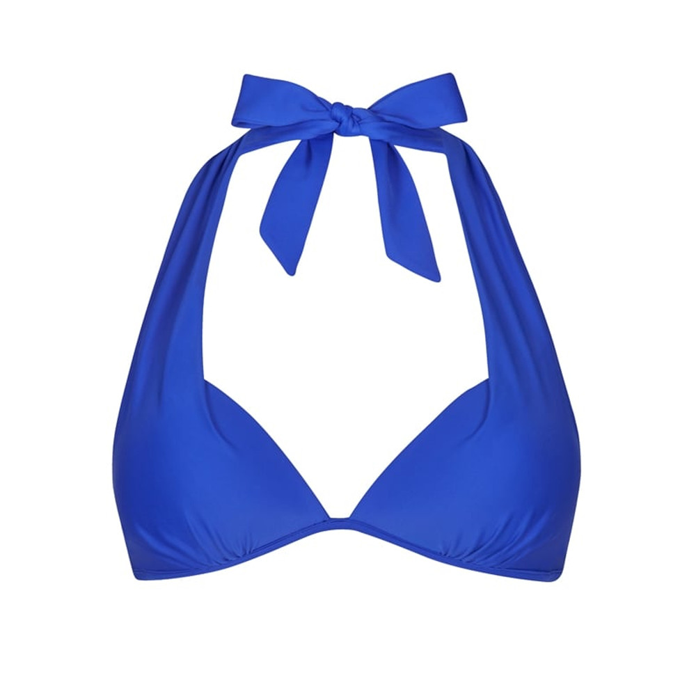 Lisbon Push Up Bikini Top - Royal Blue