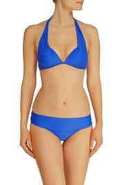 HEIDI KLEIN Lisbon Fold Over Bikini Bottoms - Royal Blue