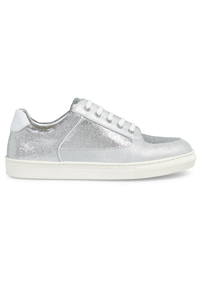 ROSE RANKIN Coney Low Top Trainers - Silver main image