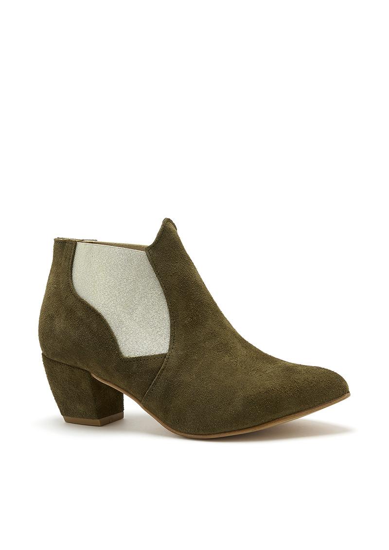 A COPENHAGEN Celine Boot - Khaki main image