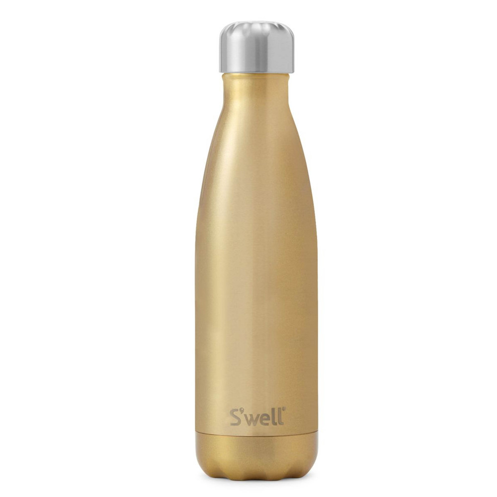The Glitter 17oz Water Bottle - Sparkling Champagne