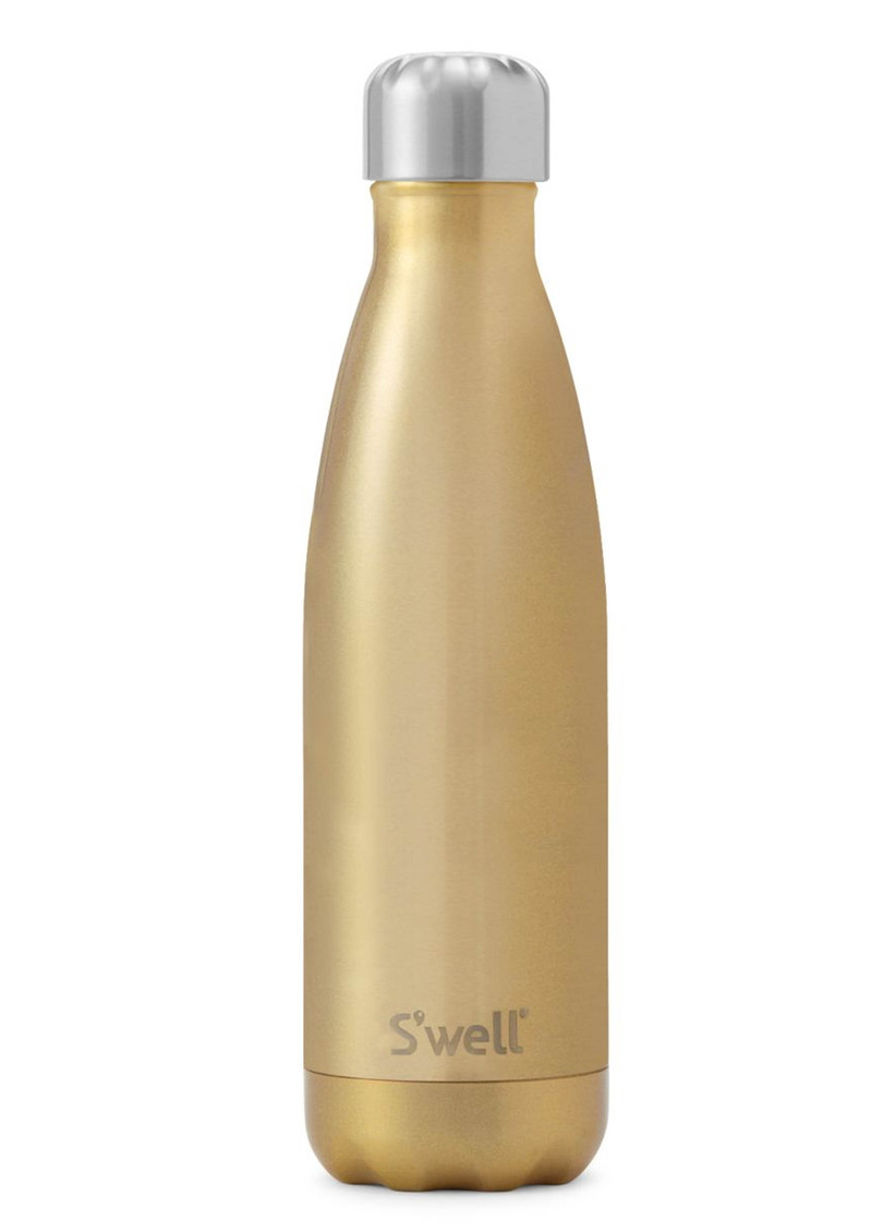SWELL The Glitter 17oz Water Bottle - Sparkling Champagne main image