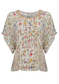 Blank Melody Floral Top - DP124