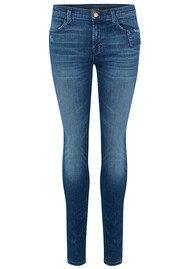 J Brand Mid Rise Super Skinny Jeans - Gone
