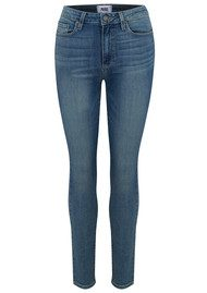 Paige Denim Margot Ankle Peg Skinny Jeans - Rosehill