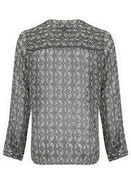 Lollys Laundry Helena Shirt - Grey