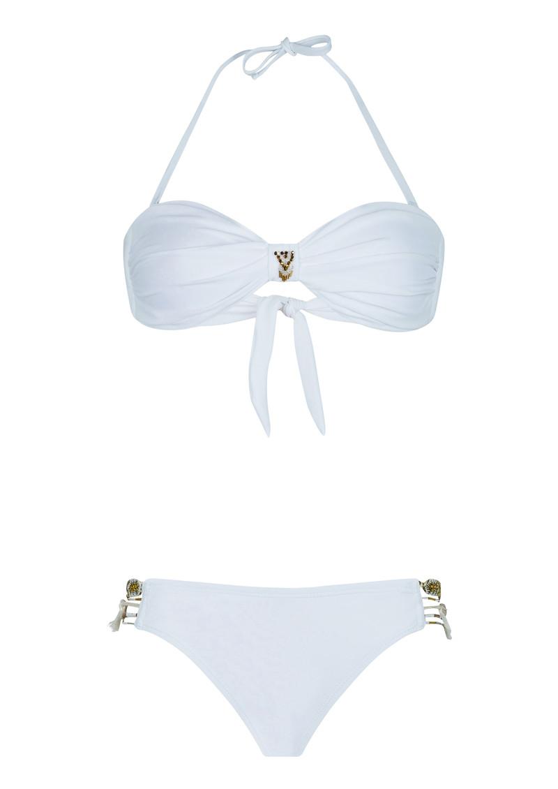 HIPANEMA Uni Bandeau Bikini Set - White main image