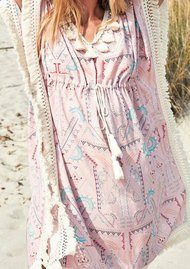 HIPANEMA Astoria Kaftan - Pink