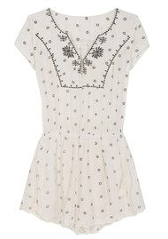 HIPANEMA Milos Playsuit - White