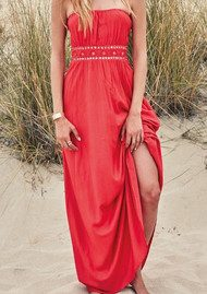 HIPANEMA Festive Dress - Red