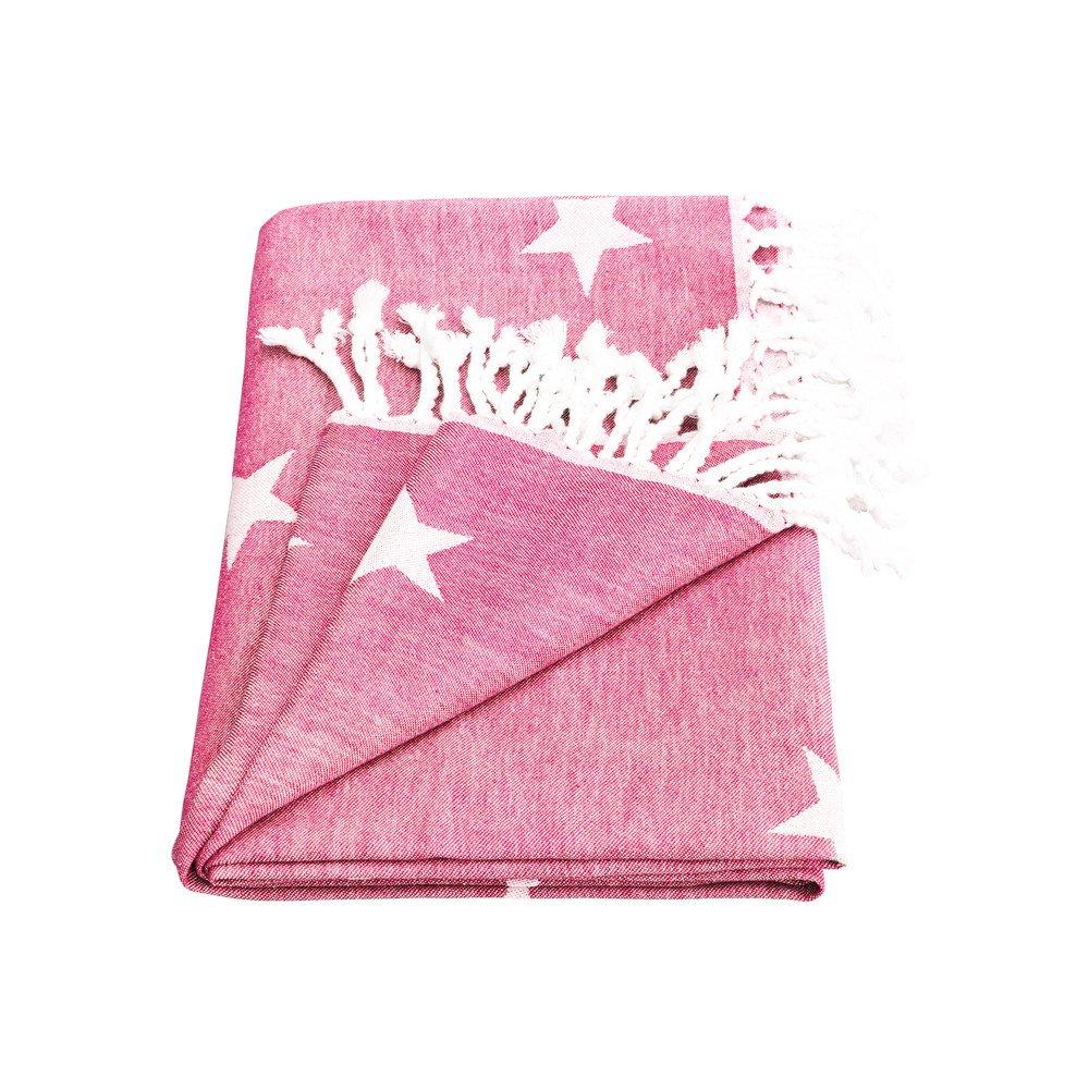 Yildiz Star Towel - Pink