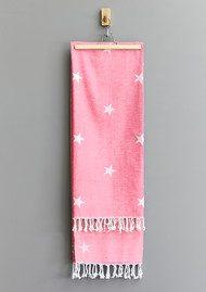 HAMMAMHAVLU Yildiz Star Towel - Pink