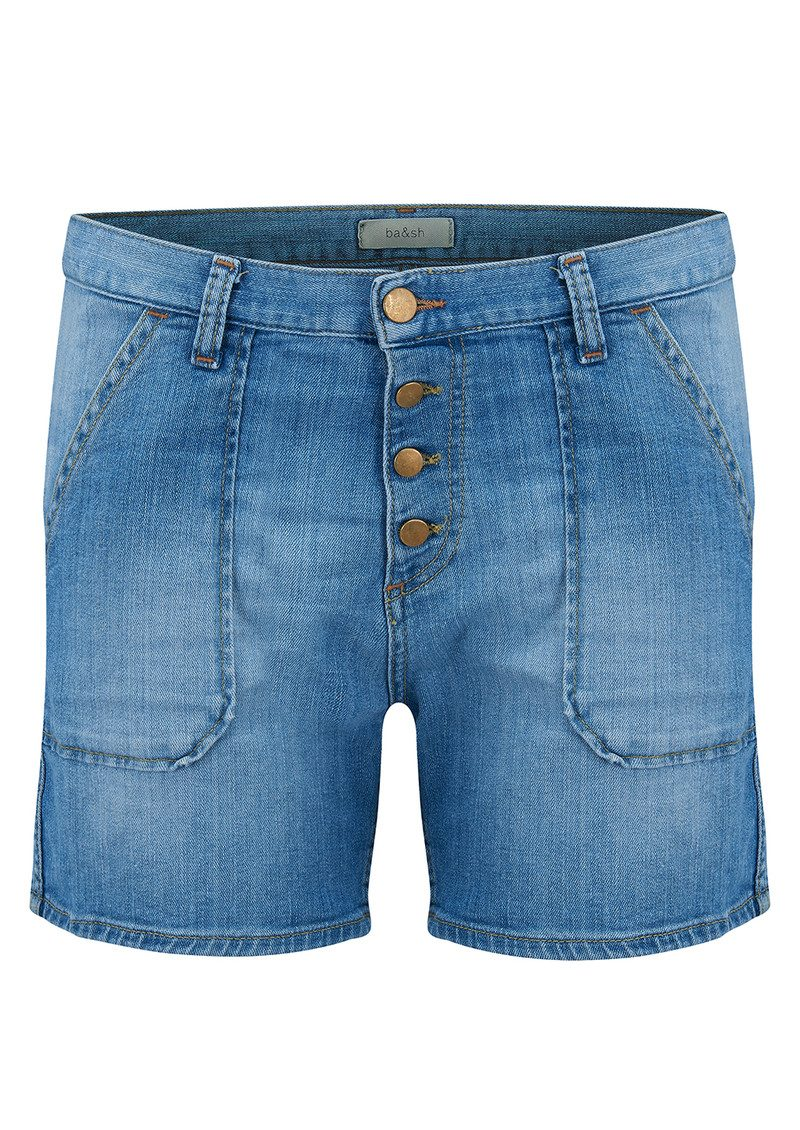 Mira Denim Shorts - Lightused main image