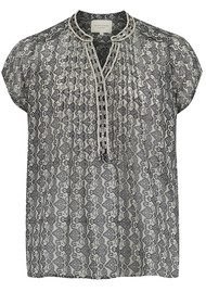 Lollys Laundry Heather Top - Grey