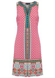 Hale Bob Giotta Beaded Dress - Fuschia