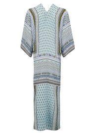 Hale Bob Nena Kimono Wrap Jacket - Light Blue