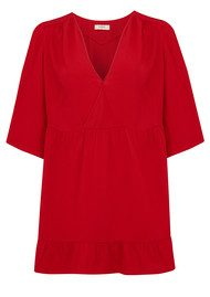 Ba&sh Yuki Dress - Rouge