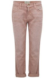 Current/Elliott The Fling Boyfriend Jeans - Rose Dust