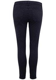 J Brand Anja Clean Cuffed Crop Jeans - Dark Navy