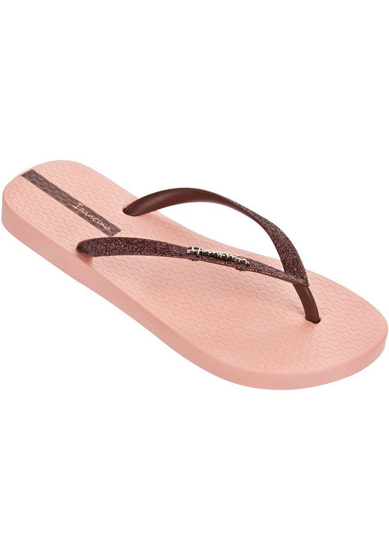 Ipanema Sparkle Flip Flop - Nude & Bronze main image