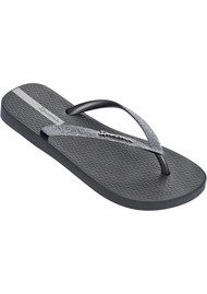 Ipanema Sparkle Flip Flop - Dark Grey