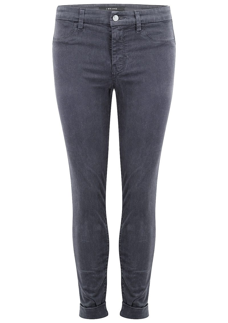 J Brand Anja Clean Cuffed Crop Jeans - Seaway main image
