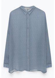 American Vintage Peonyland Long Sleeve Shirt - Fence