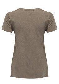 American Vintage Jacksonville Short Sleeve T-Shirt - Titanium