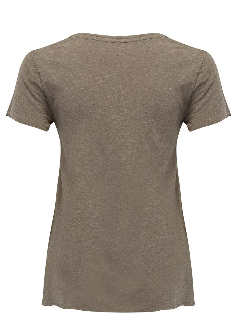 American Vintage Jacksonville Short Sleeve T-Shirt - Titanium main image