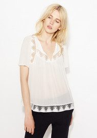 Ba&sh Warner Blouse - White