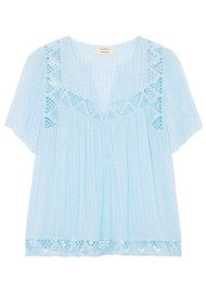 Ba&sh Umberto Blouse - Blue